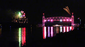 cape cod canal fireworks in hd youtube