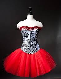 custom size black white and red damask burlesque by glamtastik