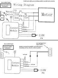 craftsman 1 2 horsepower garage door opener wiring diagram within