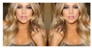 khloe kardashian inspired wavy hair youtube