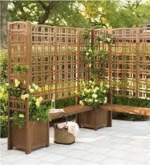 Backyard Privacy Screens Trellis Plow And Hearth Trellis New House Pinterest Planters