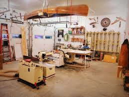 others garage woodshop wood shop plans garage space savers