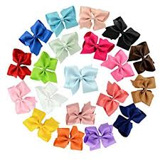 ribbon hair bow 20pcs big bow hair jmkcoz 6 hair bows hair