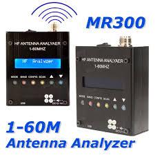 Radio Modules For Water Meters Mr300 Digital Shortwave Antenna Analyzer Meter Tester 1 60m For