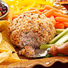 thanksgiving cheese ball beef u0026 onion cheese ball recipe taste of home