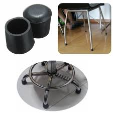 Chair Leg Covers To Protect Floor 20pcs Rubber Table Chair Furniture Feet Leg Tip Pads Floor