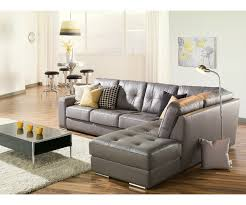 Grey Leather Sectional Sofa Artem Sofa 902511 Rs Grey Leather Sectional Need Lhf Living Room