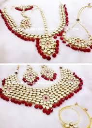 bridal jewelry polki kundan bridal jewelry set at rs 13000 set