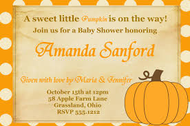 thanksgiving invitations free templates template pumpkin baby shower invitations
