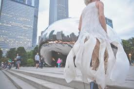 wedding photographers chicago wedding at chicago navy pier millennium park six hearts