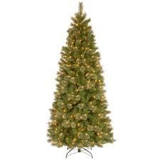national tree company 7 1 2 ft tacoma pine slim hinged artificial