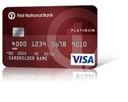Us Bank Credit Card Designs Secured Visa Card Credit Cards Personal First National Bank