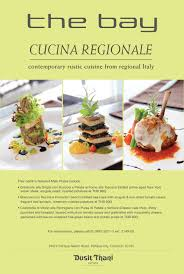 cuisine regionale the bay promotion for august and september 2012 cucina regionale
