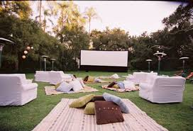 Backyard Movie Night Rental Movie Night
