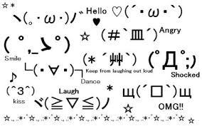 Ascii Table Flip Japanese Emoticons Kaomoji Kawaii Kakkoii Sugoi
