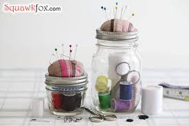 make a jar sewing kit to mend costly clothing repairs fast