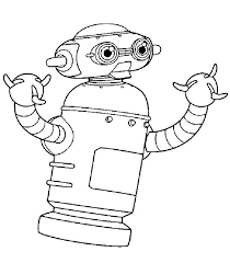 astro robot coloring pages hellokids