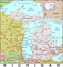Maps Of Michigan Mi Michigan Public Domain Maps By Pat The Free Open Source