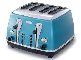 4 Slice Toasters On Sale Icona Blue 4 Slice Toaster Kitchen Delonghi New Zealand