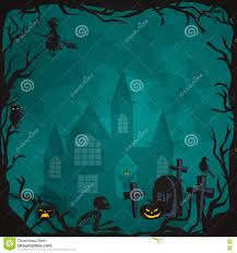 autumn halloween background halloween background horror forest with woods spooky tree