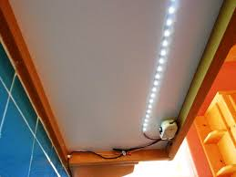 elegant strip led kitchen lighting with led lights under