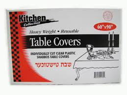 kitchen collection kitchen collection clear tablecovers 60 x 108 101216 3 49 5