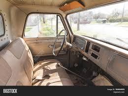Vintage Ford Truck Steering Wheel - interior classic vintage pickup image u0026 photo bigstock