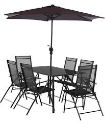 6 Seat Patio Table And Chairs Buy Milan 6 Seater Patio Set At Argos Co Uk Your Shop For