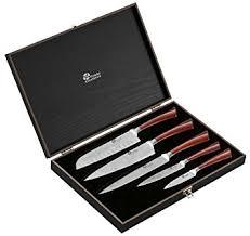 couteau cuisine pradel pradel excellence wz005c coffret 5 couteaux effet damas amazon