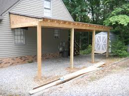 carport building plans carports carport installation adding a carport to a house flat