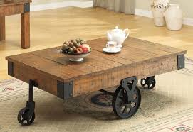 coffee table in distressed wood by coaster w options