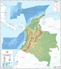 Columbia Map South America by Geography Of Colombia Wikipedia