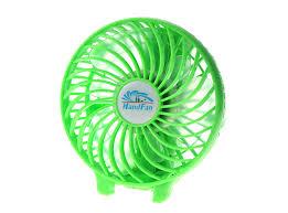 plastic fans mini fan held electric air cooling plastic rechargeable