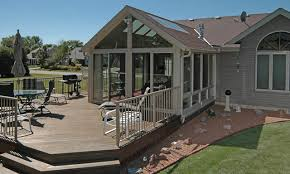 Sunrooms For Decks Patio Enclosures Sunroom Traditional Deck Milwaukee By