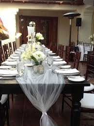 how to use tulle to decorate a table 175 best diy tulle wedding decorations images on pinterest