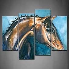 online buy wholesale horse wall art from china horse wall art