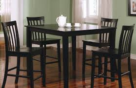 Dining Room Chair Sets Of 4 by Dining Room Satisfactory Black Dining Room Table With Butterfly
