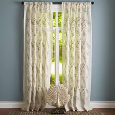 Pier One Paisley Curtains by Embroidered Jute Curtain Pier 1 Imports For The Home
