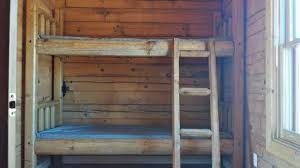Cabin Bunk Beds Bunk Beds In The Cabin Picture Of Roper Lake State Park Safford