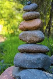 rock cairns garden design u2013 using cairns in gardens