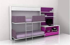 bedroom bunk beds for small rooms with colorful themes