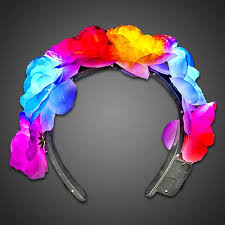 flower band led flower headband