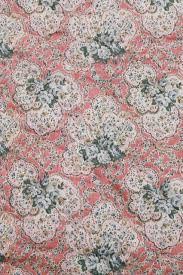 Wool Filled Comforter Hand Tied Quilt Comforter Shabby Chic Floral Puffy Wool Filled