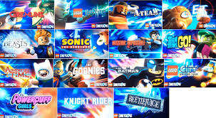 Dimensions Lego Dimensions The Rest Of The Licenses Officially Announced At