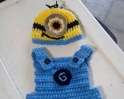 Minion Halloween Costume Baby Baby Minion Etsy