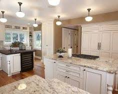 White Kitchen Cabinets With Glaze by Kitchen Design Ideas Granite Countertop Valance And Countertop