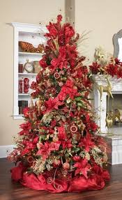 red and white christmas tree decorating ideas u2013 home design and