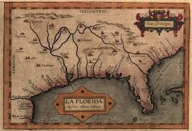 Fl East Coast Map 16th Century Pennsylvania Maps