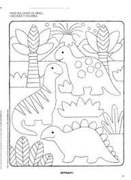 dinosuarss crafts print dinosaur fossil template 1