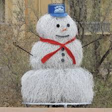 amafca abq arroyo and flood control tumbleweed snowman